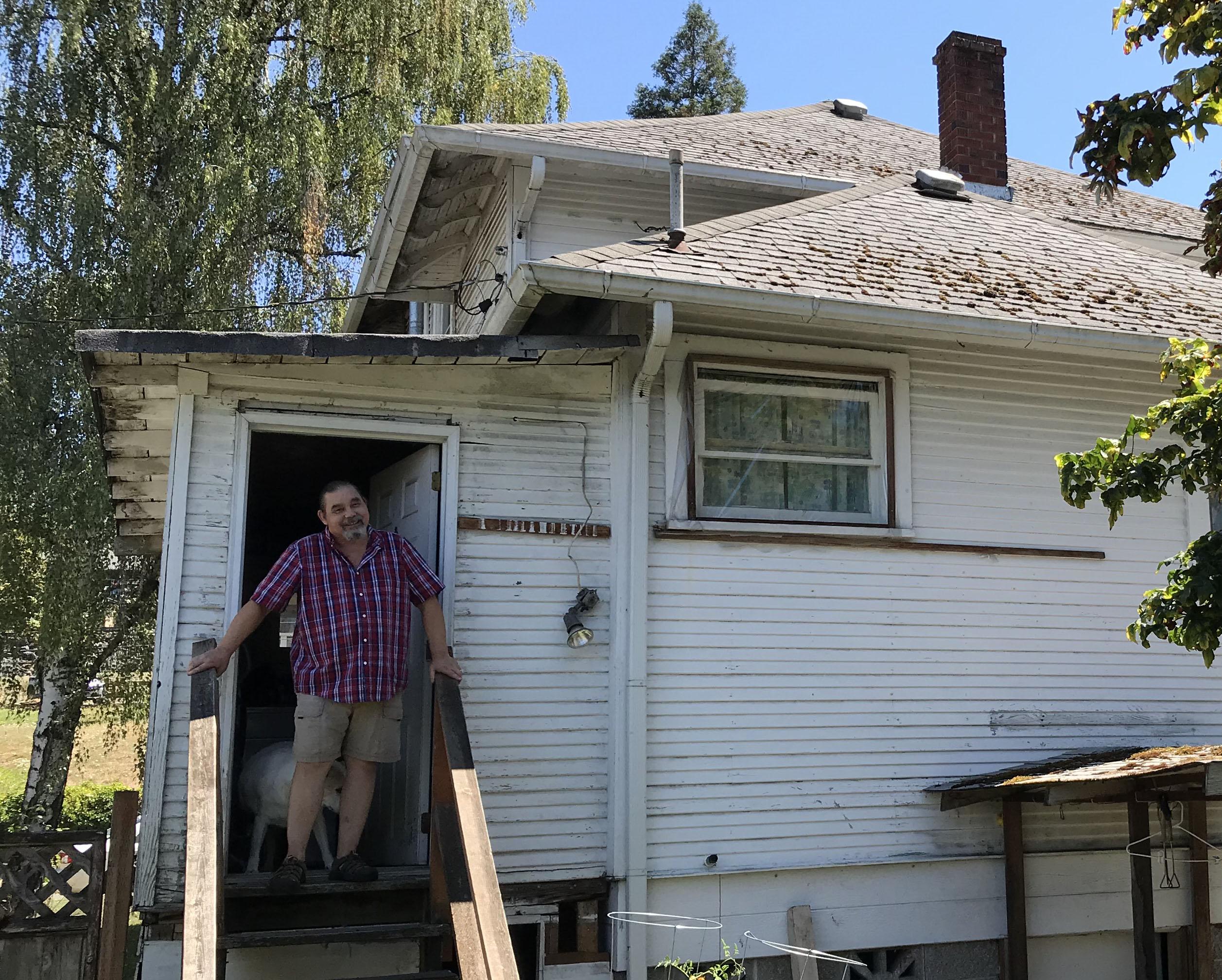 before a roof repair